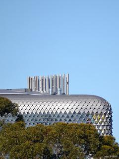 silver spaceship