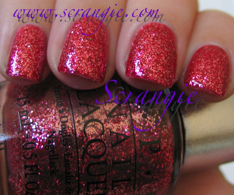 Scrangie New OPI Designer Series Shades for 2011 Swatches
