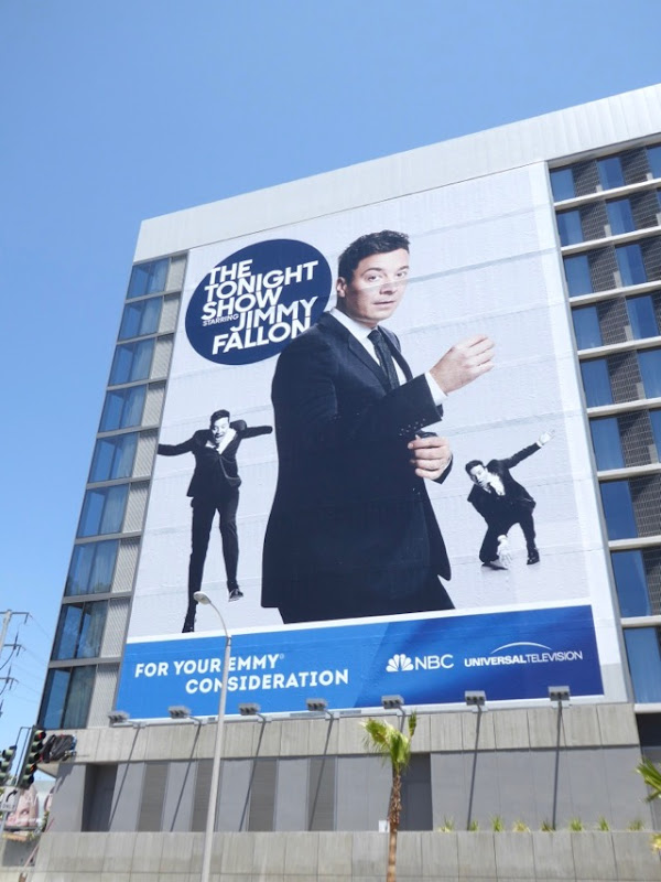 Jimmy Fallon giant 2017 Emmy FYC billboard