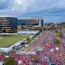 Histórico: Marcha em direção ao TSE para o registro da candidatura do Lula.