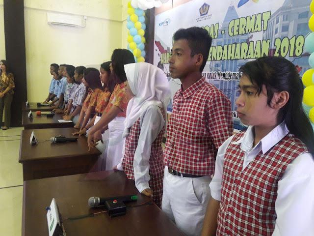 KPPN Saumlaki Gelar Lomba Cerdas Cermat Bagi Siswa-Siswa di Tanimbar