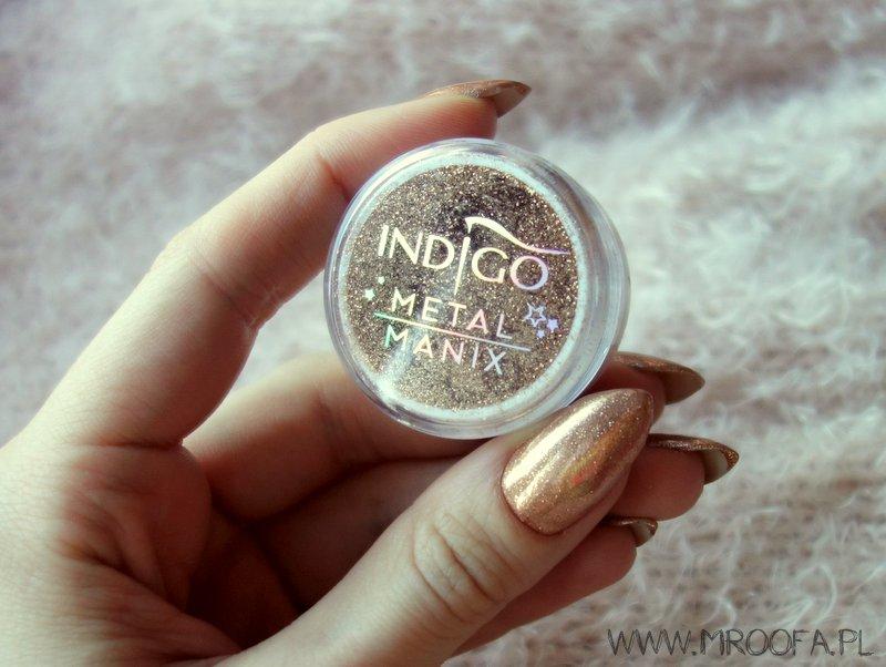 Indigo Metal Manix Pink Gold Mroofa