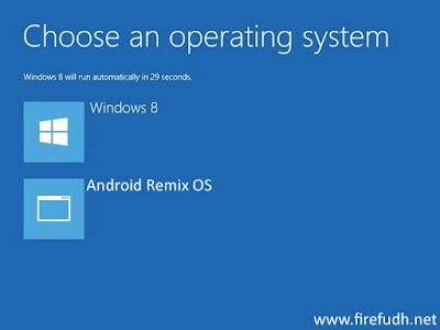 Windows 8 dan Remix OS