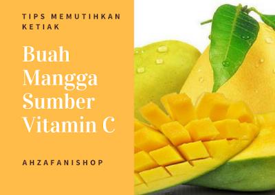 Buah Mangga Sumber Vitamin C Untuk Memutihkan Kulit Ketiak