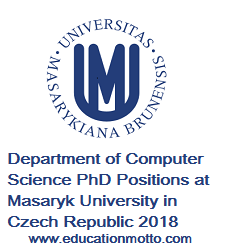 PhD Scholarship Positions at Masaryk University in 2018, Scholarship, International, Czech Republic, PhD, Degree, Description, Eligibility Criteria, Method of Application, Masaryk University,