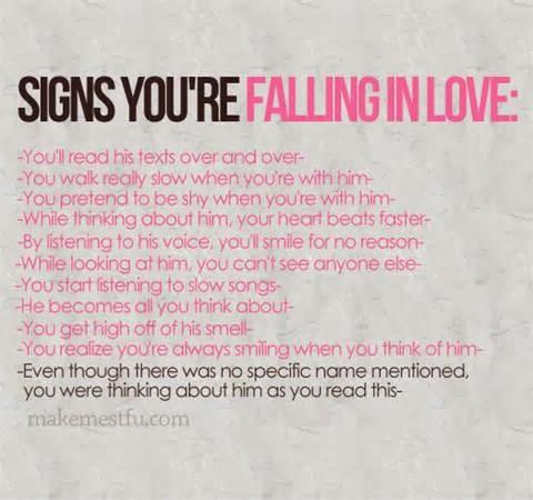 I Think Im In Love Quotes. QuotesGram