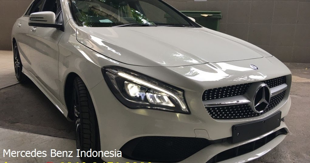 New cla class indonesia 2017 info sales promo dealer for Mercedes benz service b coupons 2017
