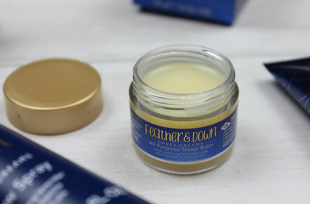 A review of Feather & Down Sweet Dreams All Purpose Sleep Balm