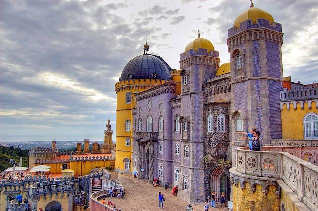 Entrada Palácio da Pena em Sintra