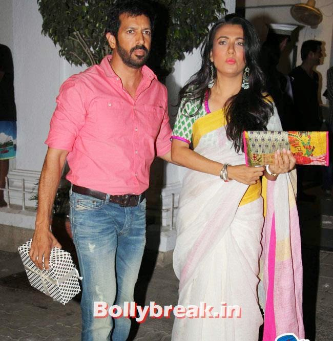 Kabir Khan and Mini Mathur, Karan Johar Birthday Party Pics 2014