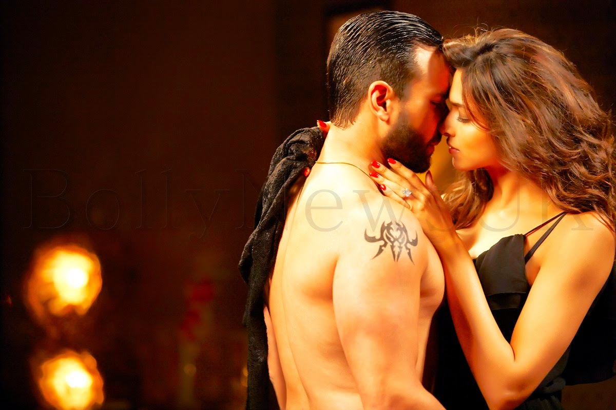 Lip Kiss Photos Of Dipika And Saif Ali Khan 3