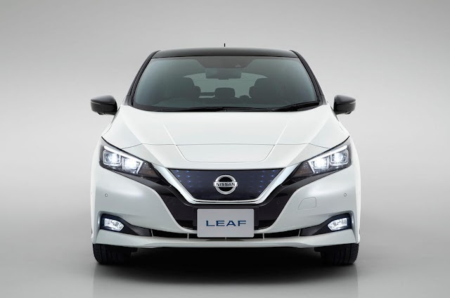 The new Nissan Leaf 2018