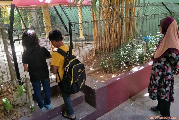 Anak-Anak Seronok Mendekati Haiwan di Langkawi Wildlife Park