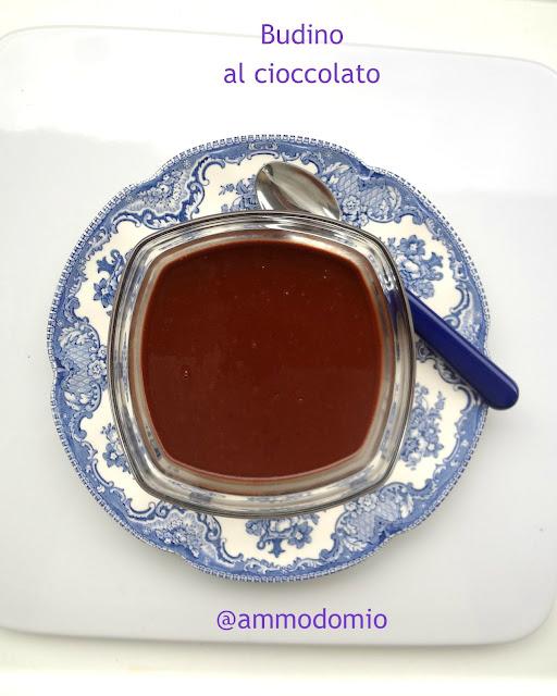 Budino al cioccolato in 5 minuti