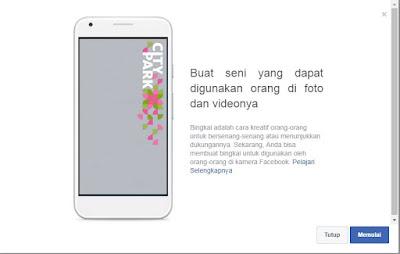 cara membuat bingkai facebook di hp