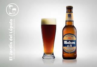 Cerveza sin alcohol Mahou 0,0 Tostada