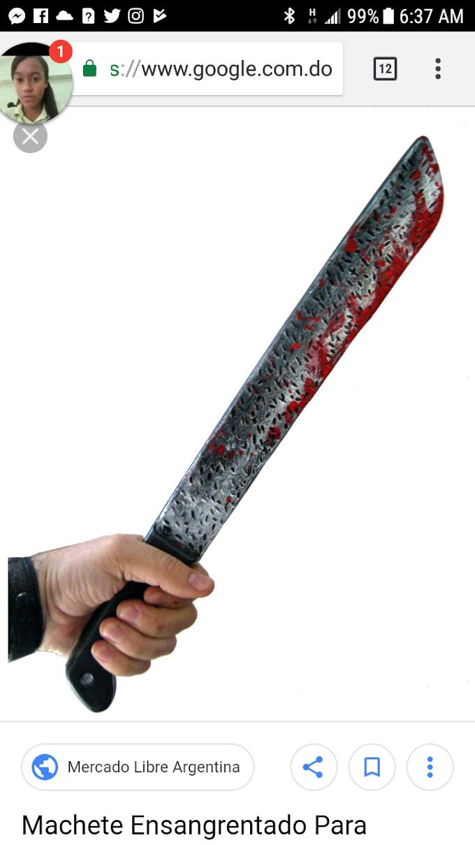 ¡De últimos momentos¡ Hombre celoso  mata a otro y machetea a su hijo en Palmarito de Barahona.