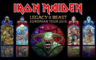 Resultado de imagem para Legacy Of The Beast tour