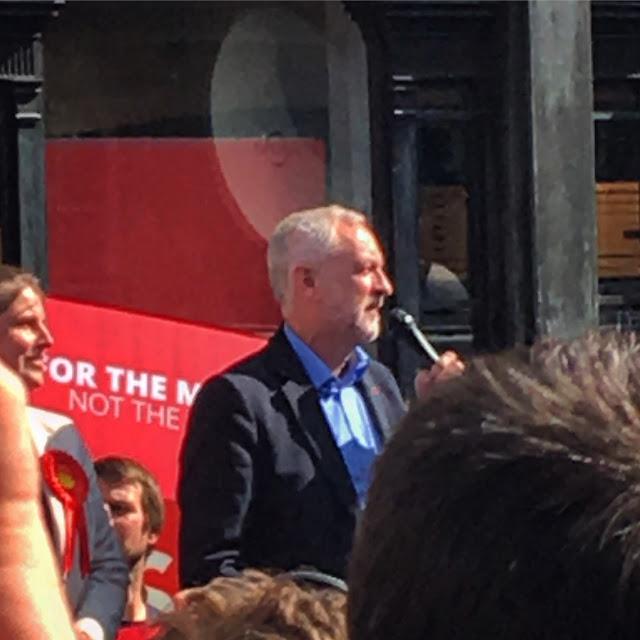 Jeremy Corbyn York