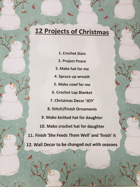 12 Projects of Christmas