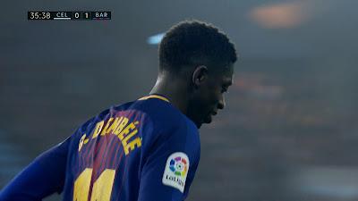 LFP-Week-33 Celta Vigo 2 vs 2 Barcelona 17-04-2018
