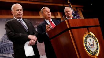 Senators threaten to block healthcare 'skinny repeal' bill