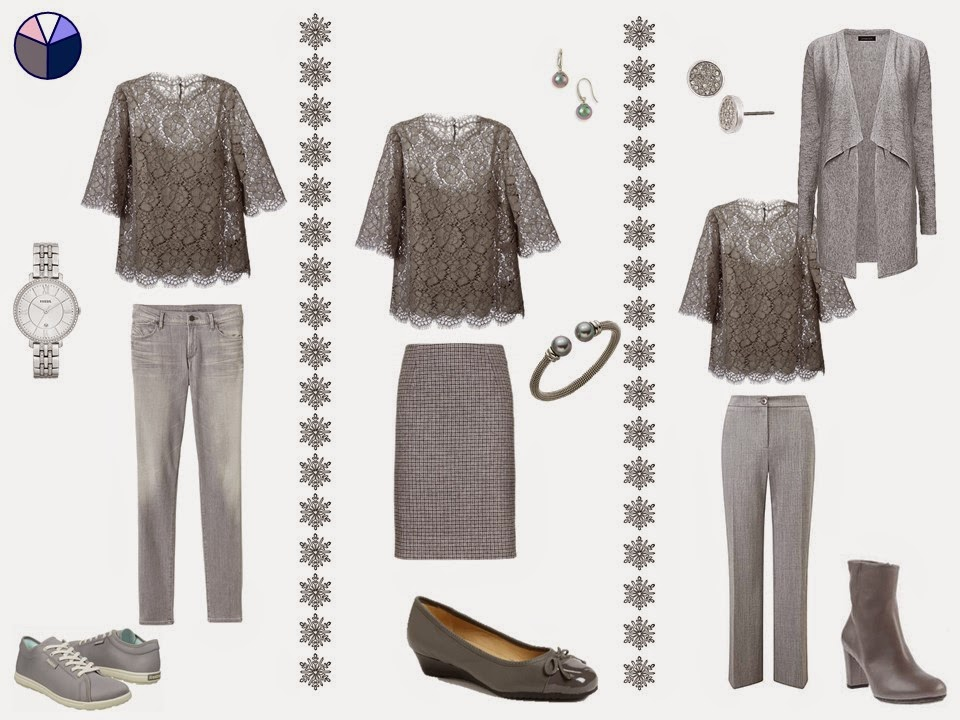How to add a dressy top to a capsule wardrobe - a step by step guide