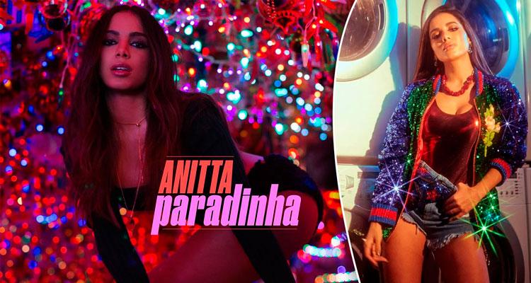 Anitta em vídeo clipe Paradinha - Foto: Reprodução