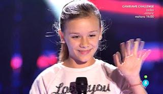 Aroa canta The Climb de Miley Cyrus. Último asalto La Voz Kids 2017