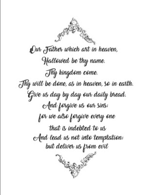 image about Free Printable Names of God named Is it Monday, but?: Praying the Lords Prayer + Absolutely free Printables