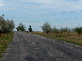 Клебан-Бык. Дорога на Плещеевку