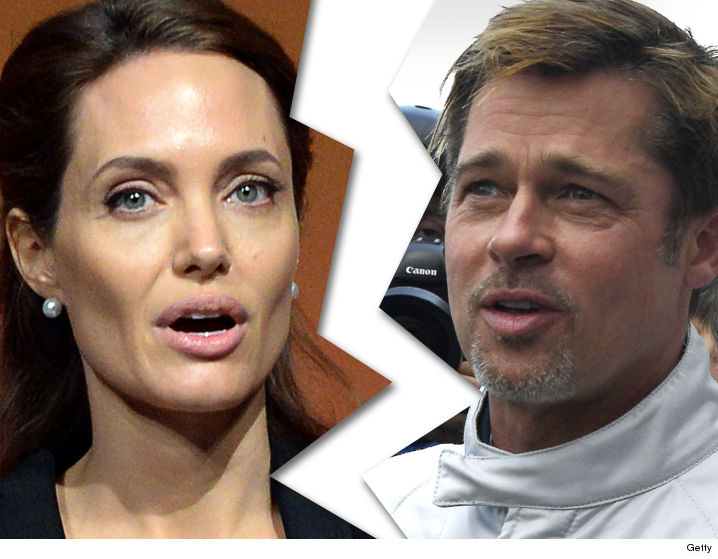 Angelina Jolie and Brad Pitt, and if the divorce did not take place