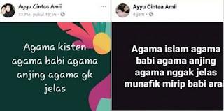 Berita Terhangat Netizen: Waspada Akun Mencerai-Beraikan Sara 'Ayyu Cintaa Amii'