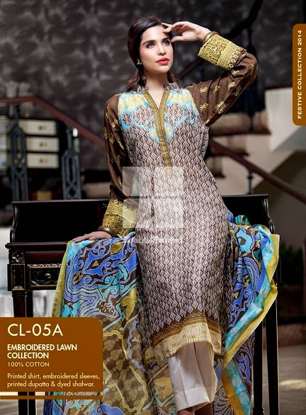 Gul Ahmed - Normal Eid Collection 2014