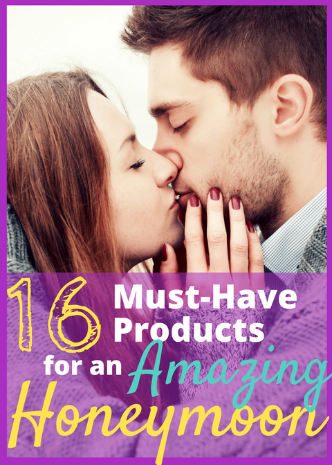 16 Honeymoon Must-Haves - These are some great inexpensive product ideas to bring with you on your honeymoon. These unique and personalized gifts are an awesome way for newlyweds to celebrate and show off that they're just married! My favorite is number 4!