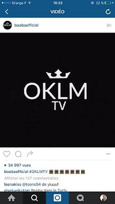 Booba annonce OKLM TV
