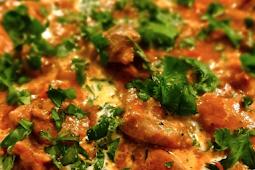 African Chicken, Peanut & Spinach Stew