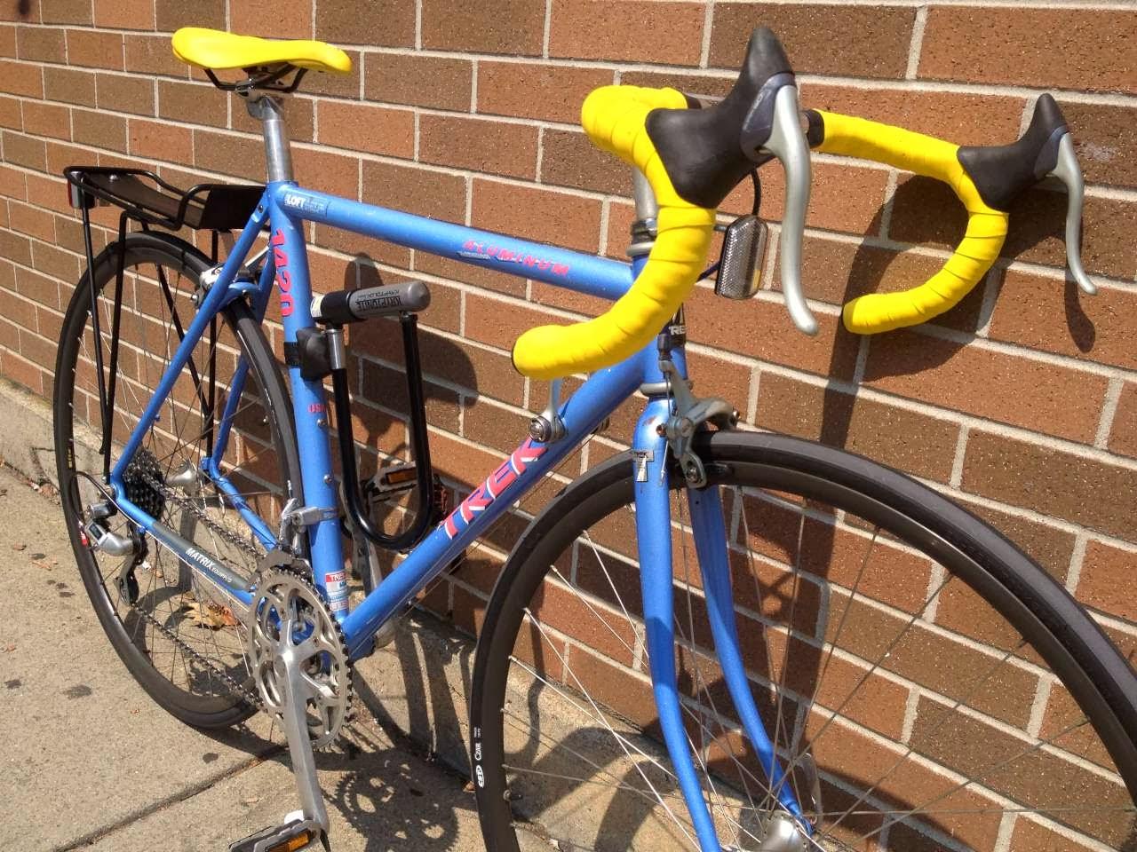 Bike Boom Refurbished Bikes 1990 Trek 1420 Road Bike
