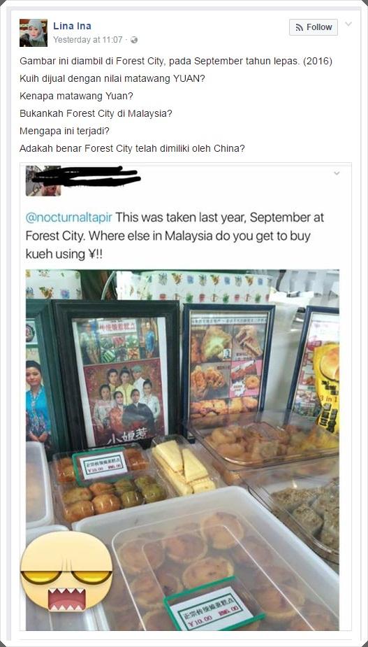Peniaga Di Forest City Johor Didakwa Guna Matawang Yuan