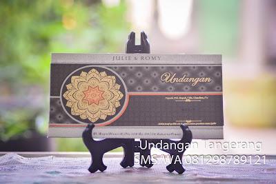Cetak Undangan Pernikahan Online di Tangerang
