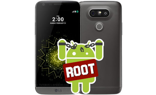 rooter lg g5 h850 avec twrp recovery
