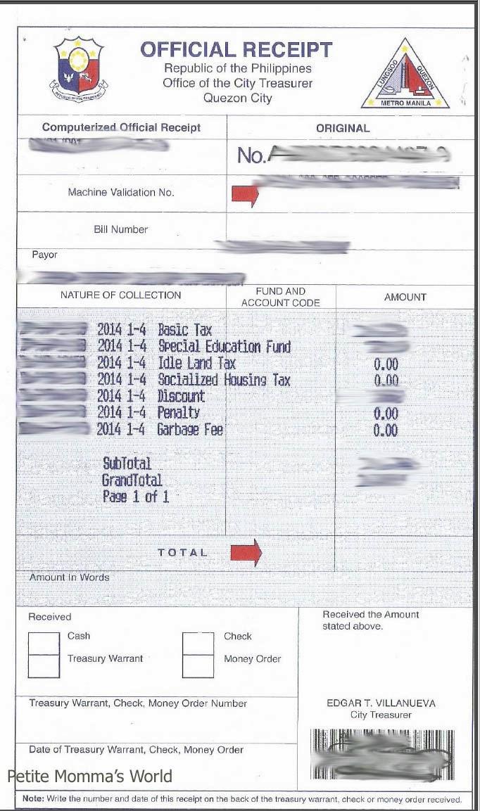 Property Transfer Tax Form