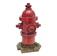 Image: Dog Fire Hydrant Yard Garden Indoor Outdoor Resin Statue
