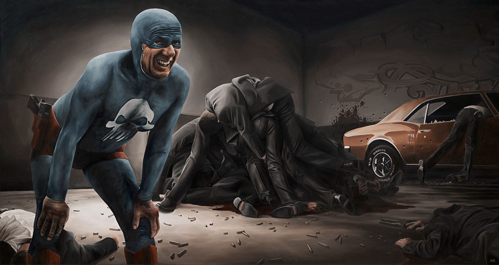 16-Andreas-Englund-Paintings-of-the-Unglamorous-Side-of-a-Superhero-www-designstack-co