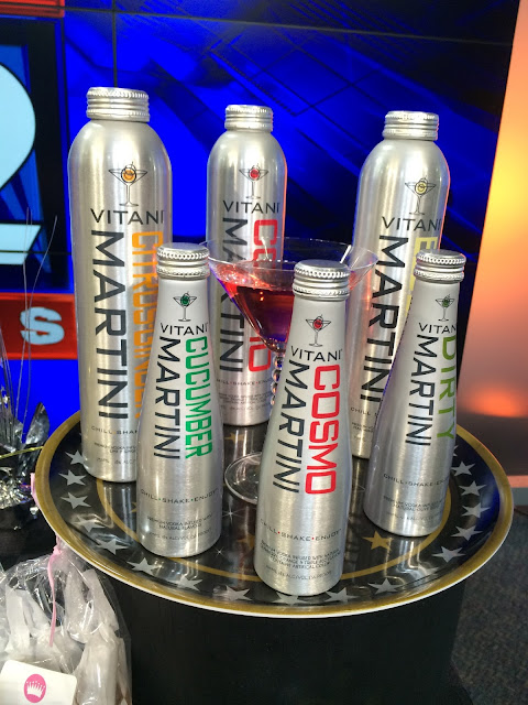 Martini Sampler from Vitani   all dressed up with nothing to drink...