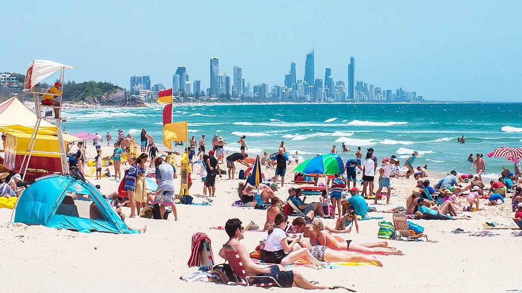 黃金海岸-衝浪者天堂-海灘-推薦-景點-美人魚海灘-Mermaid Beach-Gold-Coast-Surfers-Paradise-Beach