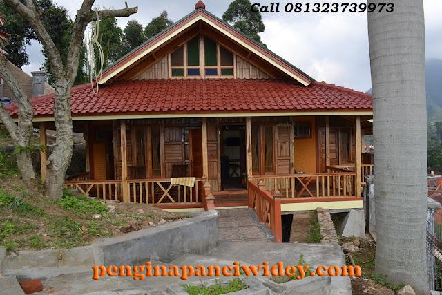 Cottage dekat kawasan kawah putih
