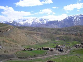 Village Komick in Spiti