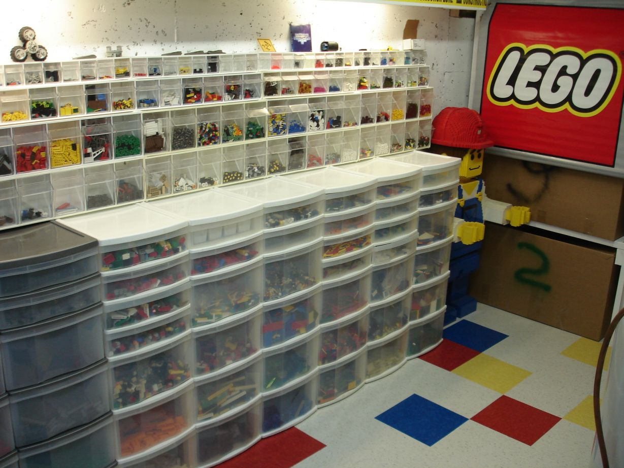 Tiles Or Studs Lego Rooms