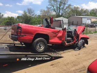 scrap junk trucks